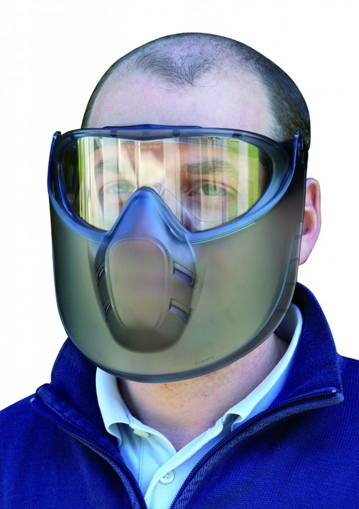 Lunettes masque anti-buée + pare visage - Stormlux