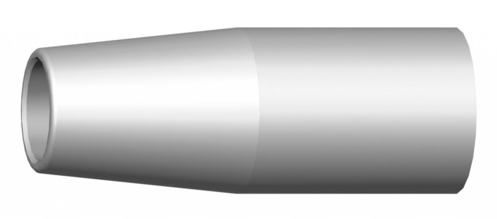 Torche de soudage Mig : Buse gaz conique