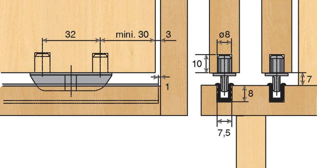 PATIN DE GUIDAGE STB 35 TOPLINE22