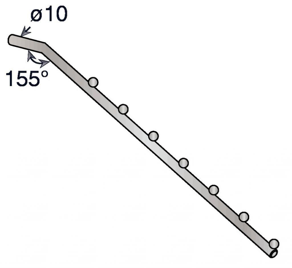 Douille et console - ligne Diamant : Bras perroquet 7 positions