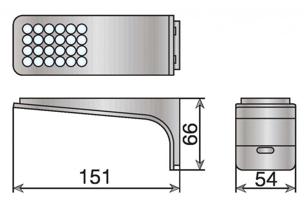 JEUX 3 SPOTS LED 1,6W SKATE