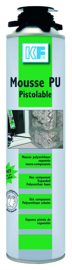 Joint : Mousse  expansive polyuréthane