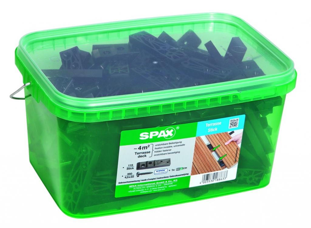 SPAX STICK FIXATION INVISIBLE 4M2