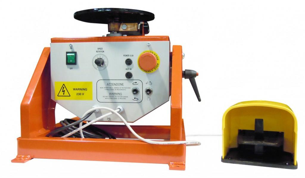 Connectique soudure et consommables : Positionneur à table rotative