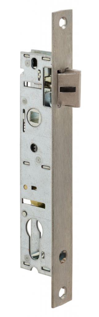 Serrure pour menuiserie métallique : 1 point - série 92 MTX -  bec de cane avec rappel du 1/2 tour