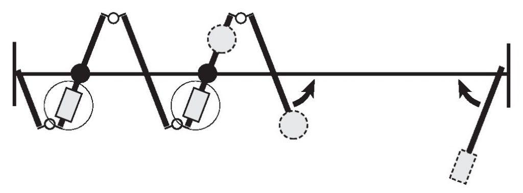 CHARNIERE INOX CENTERFOLD/VARIOFOLD
