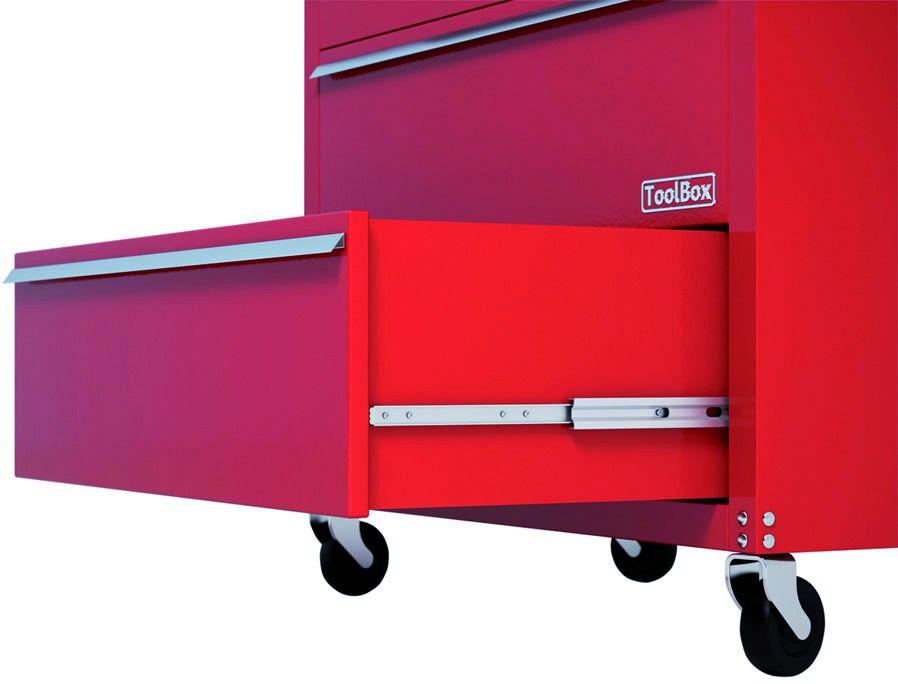 Coulisse à bille et bois : Sortie totale DZ 5321 EC / 65 - 100 kg