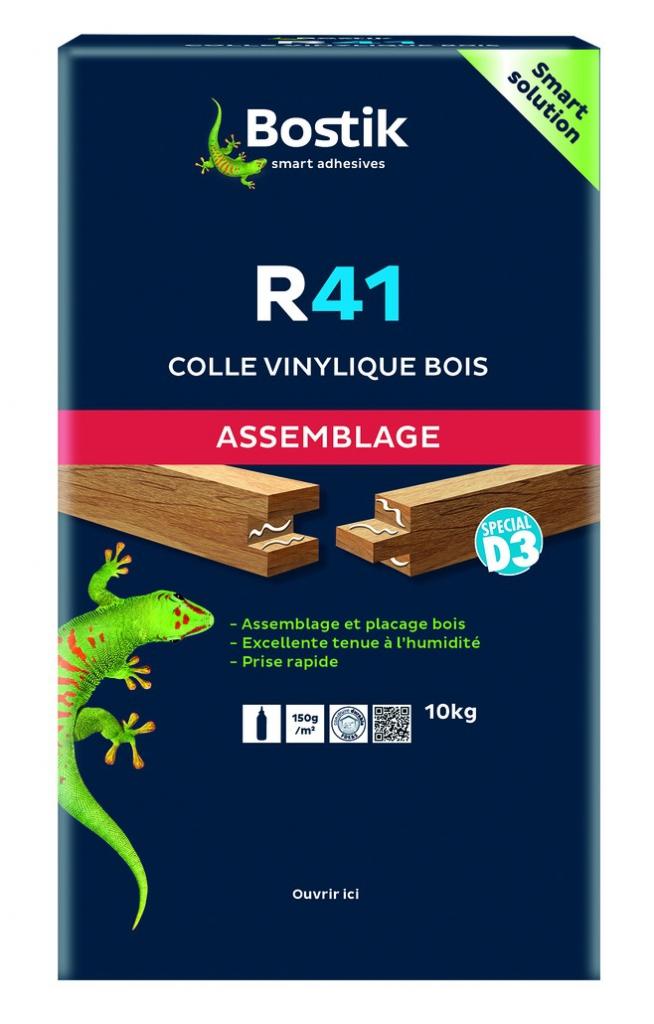 COLLE BOIS VINYLIQUE R41 D3 10KG