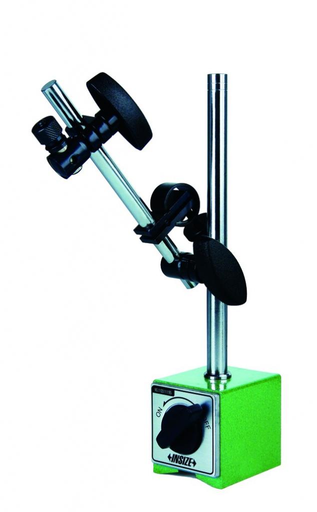 Support à base magnétique pour comparateur : Support magnétique à blocage manuel