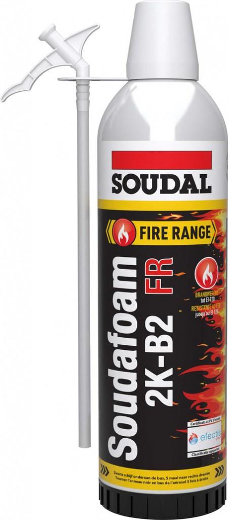 Joint : Mousse manuelle PU bi-composante Soudofoam 2K-B2