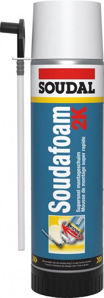 Joint : Mousse manuelle PU bi-composante Soudofoam 2K