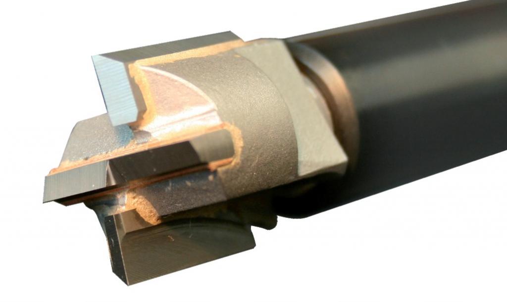 Défonceuse : Fraise carbure pour le bois pour dispositif à percer et mortaiser DPM 100/50