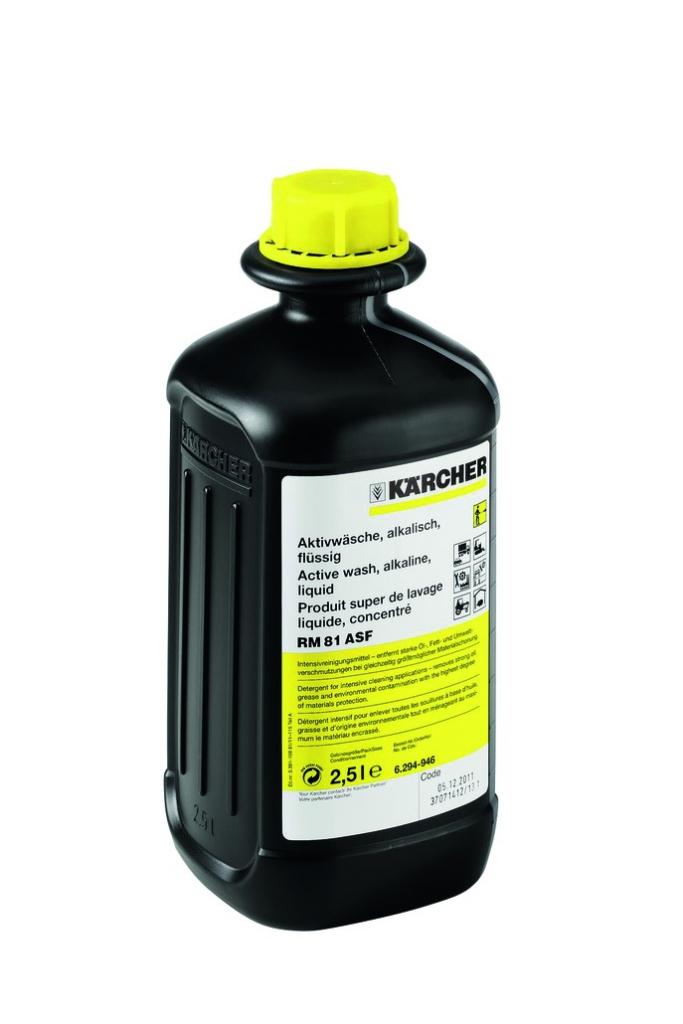 Nettoyage industriel : Lavage actif alcalin concentré RM 81 ASF