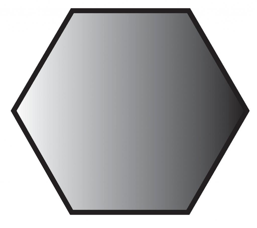 Boulon : Acier zingué - ISO 4017 - classe de résistance 6-8