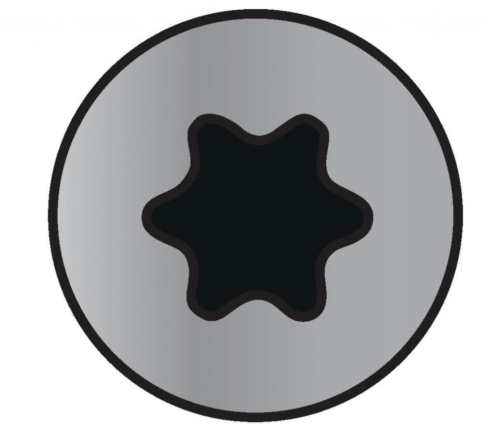 Visserie à bois inox : Coffret 1055 vis bois aggloméré tête fraisée empreinte Torx inox A2