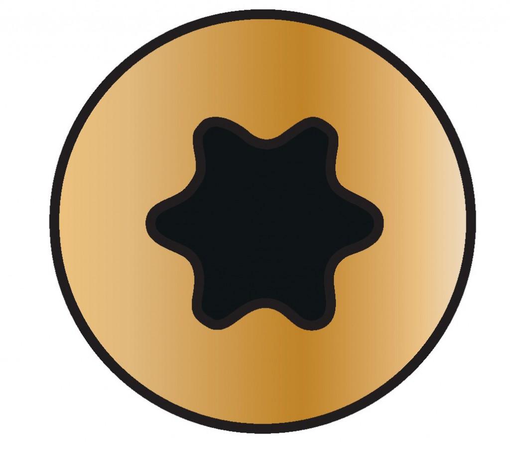 Vis à bois aggloméré : Yellox - filetage partiel