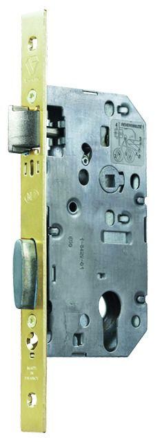 Serrure de sûreté à larder : Série D 450 Vachette NFQC - usage intensif