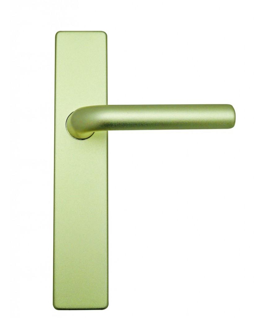 Ensemble aluminium anodisé : Plaque 220 x 44 mm