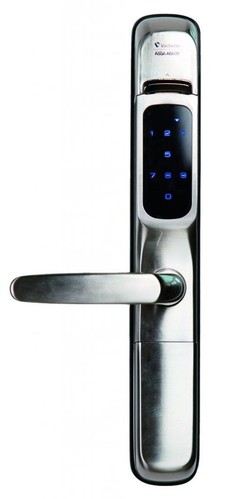 Verrou et serrure électronique autonome : Revo'motion + serrure 3 points