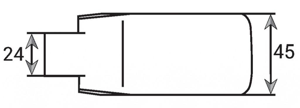 Serrure de porte verre Stremler : La paire