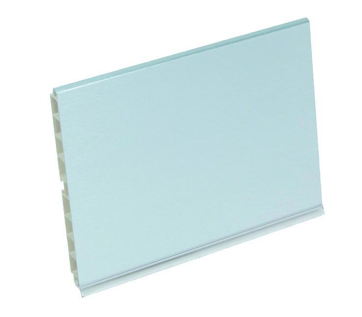PLINTHE ALU/PVC HT 150 LONG 4 ML
