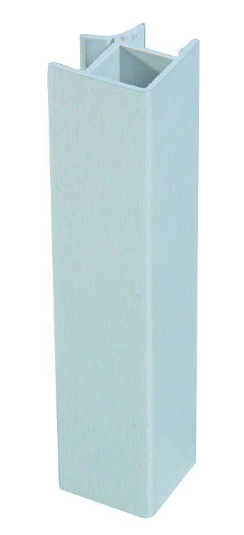 ANGLE PLINTHE ALU/PVC HT 150
