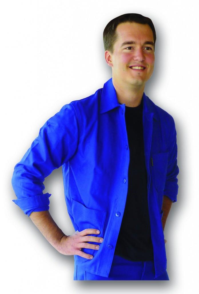 Vêtement de travail : Veste Mercure bleu bugatti