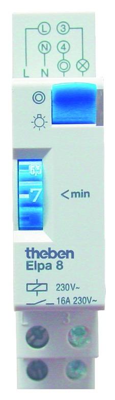 Appareillage modulaire : Minuterie Theben - 16A