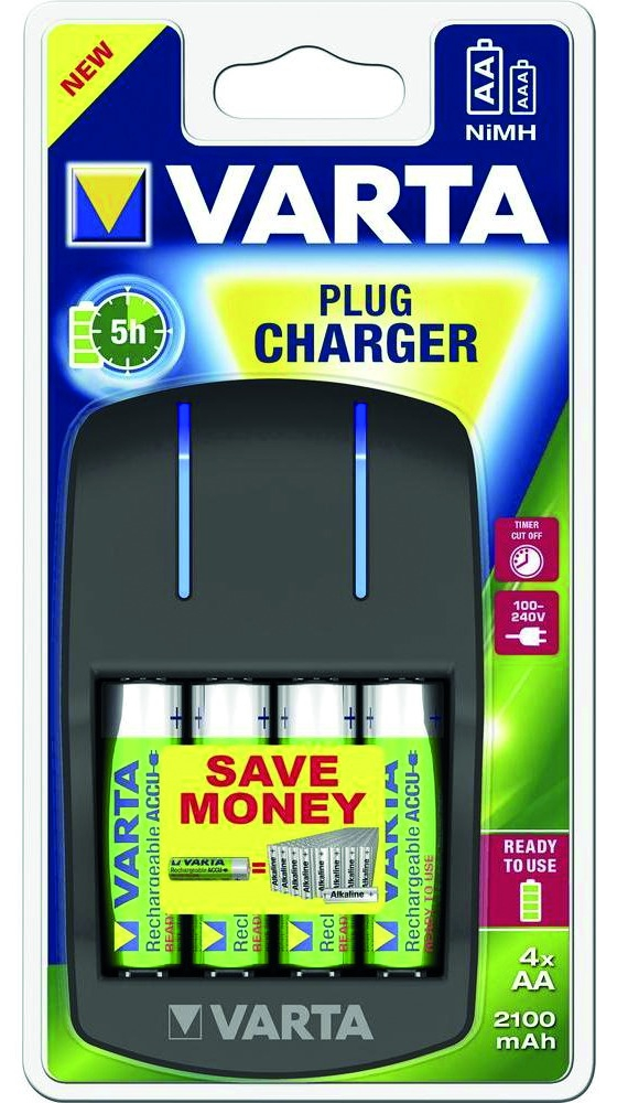 CHARGEURS PILES AA