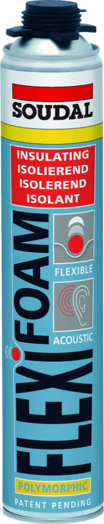 Joint : Mousse PU flexible Flexifoam GUN VIS