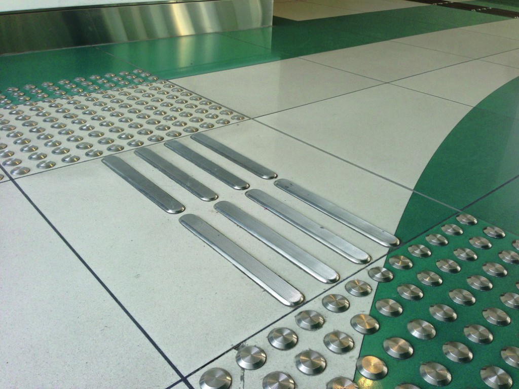 BANDE PODOTACTILE INOX 316 LISSE
