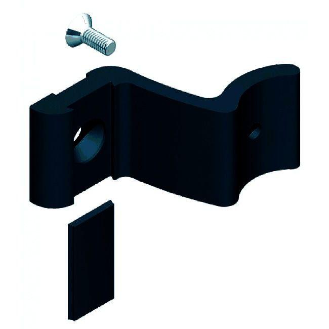 Poignée de porte battante : Kit support intermédiaire pour poignée barreau alu Diva XI