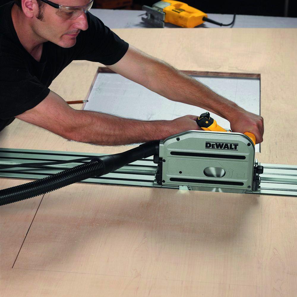 Scie circulaire : DWS 520 KR  - hauteur de coupe à 90° - 59 mm - 1300 Watts