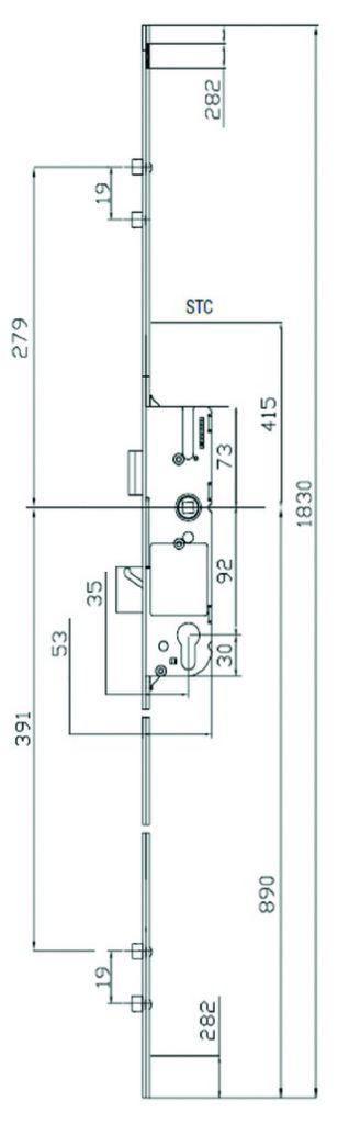 SECURY EUROPA 35/92 R2 T16 C8 L1830