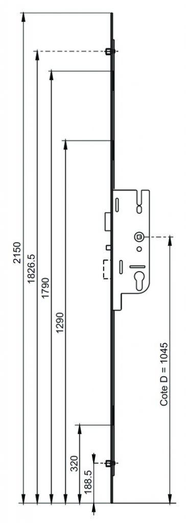 CREMONE G.U-FERCOMATIC A40 2M15 L16