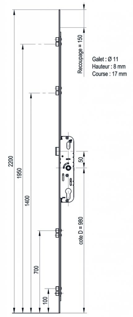 CREMONE BARILLET G-24755-22-L-1