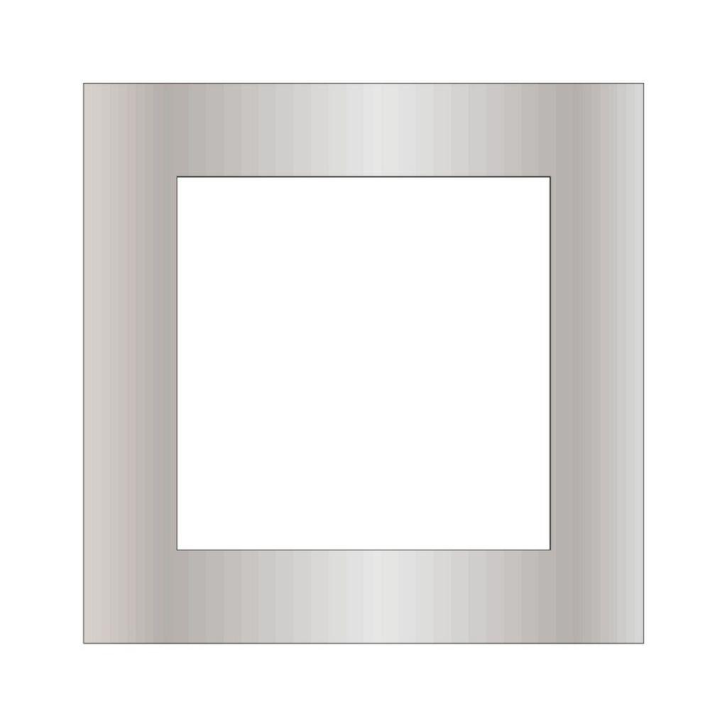 Porte de garage sectionnelle : Motif inox 316l