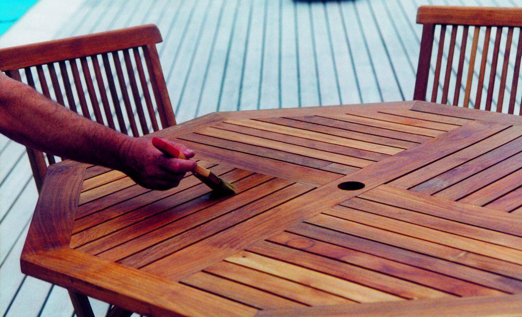 Traitement du bois : Saturateur ambré pour bois exotiques