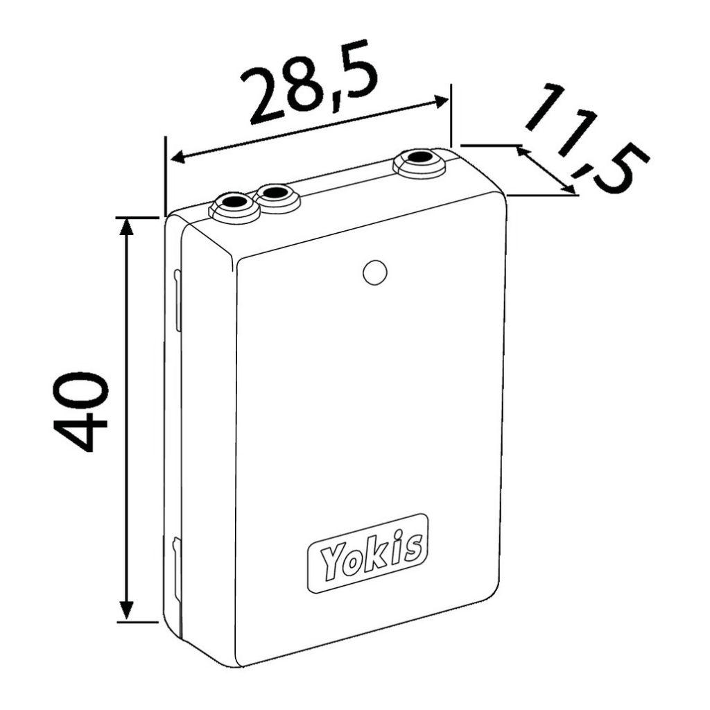 Solution domotique : Emetteur radio Power 2 canaux