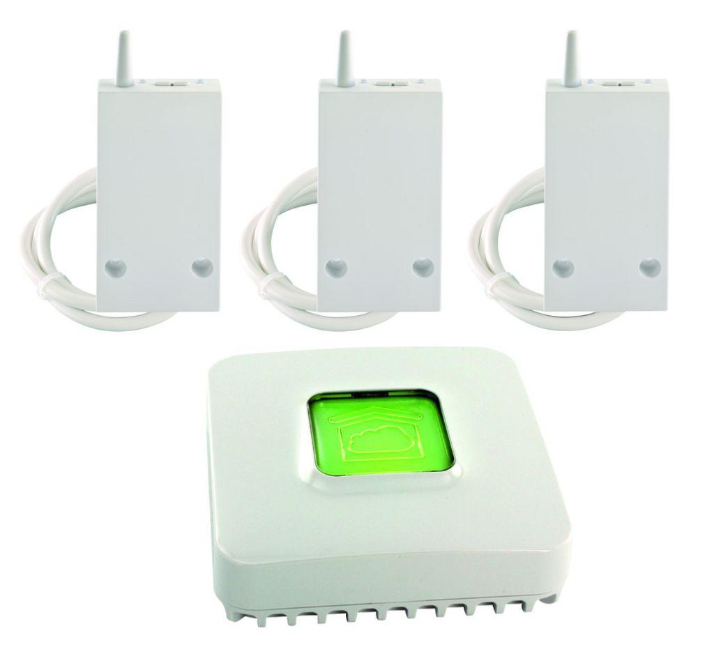 Solution domotique : Pack chauffage électrique RF6600 FP connecté