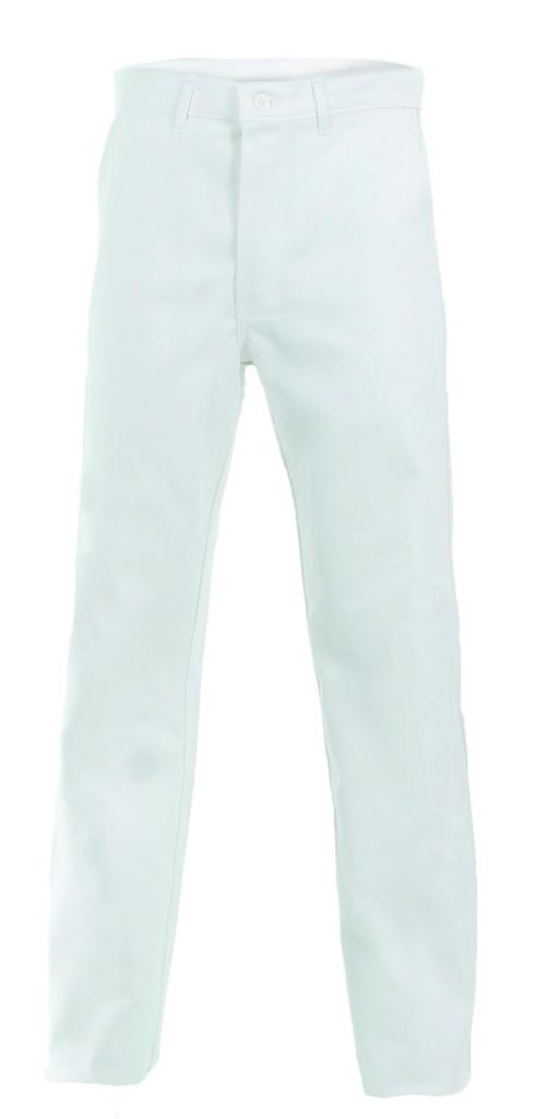 Vêtement de travail : Pantalon blanc 100% coton