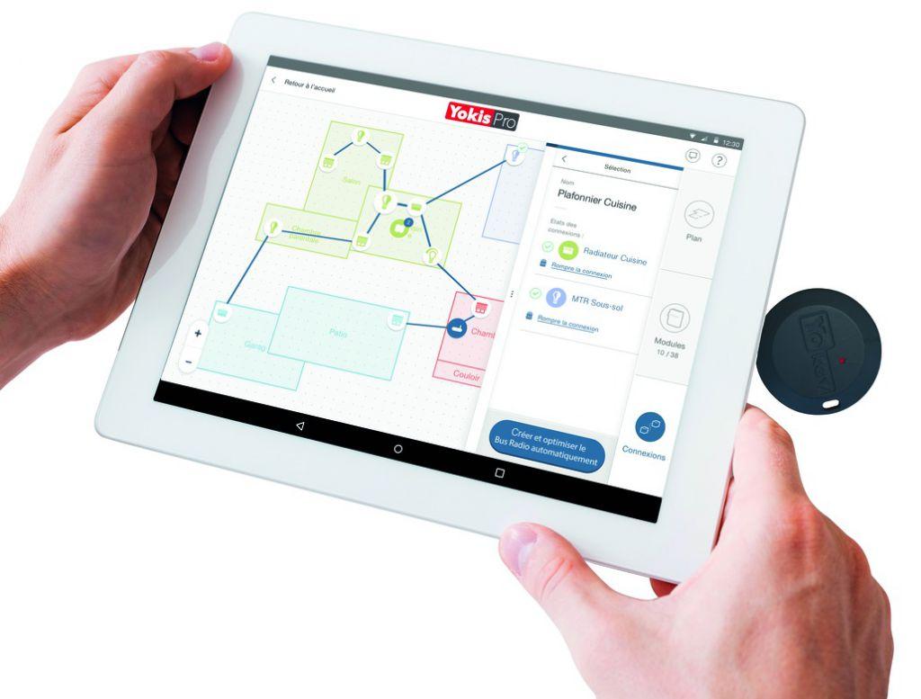 Solution domotique : Kit de programmation pro tablette   + yokey
