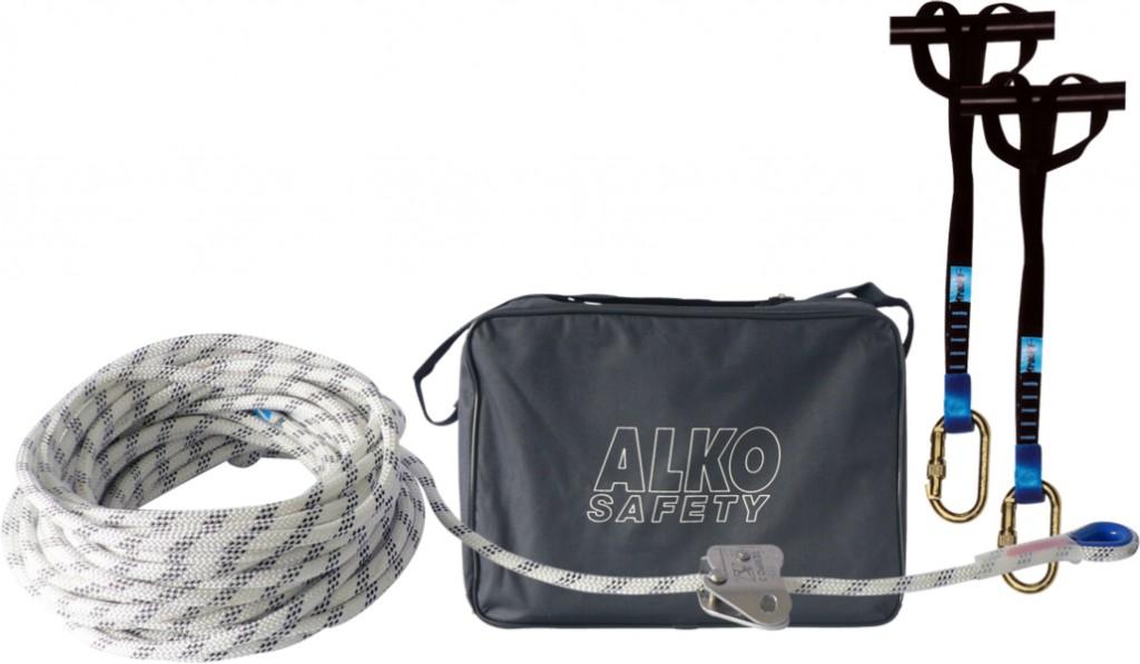 Harnais de sécurité Alko : Kit ligne de vie temporaire