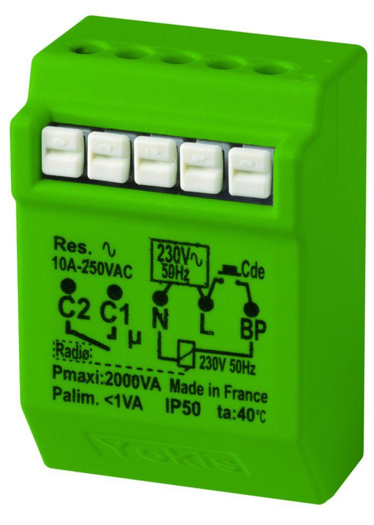 Solution domotique : Télérupteur 10A radio Power