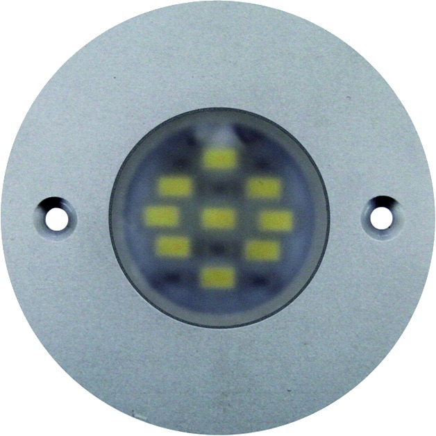 SPOT LED 160 ROND ALU APPLIQUE 3,8W