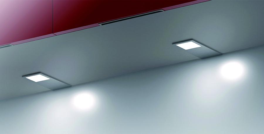 Luminaire led : Kit 3 spots led rectangulaire