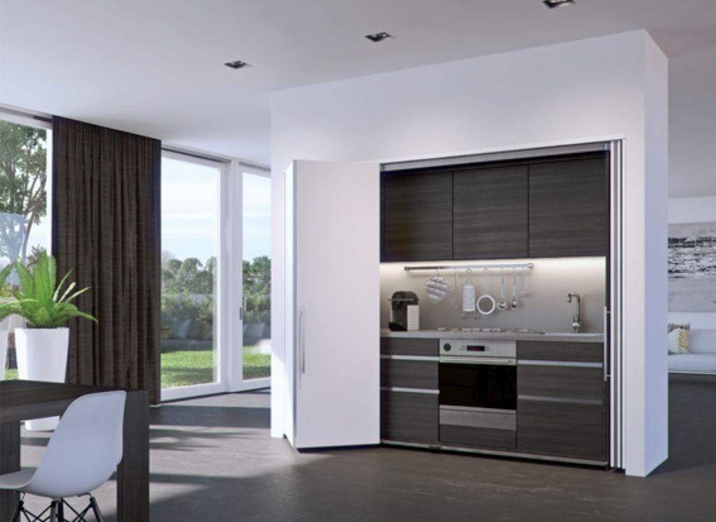 Porte rentrante de meuble : Concepta Folding