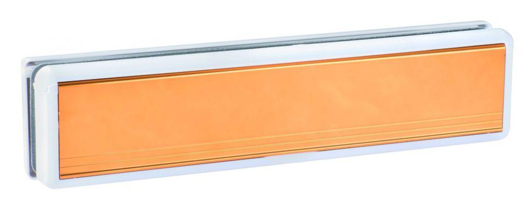 Boîte aux lettres : Polyamide avec volet aluminium