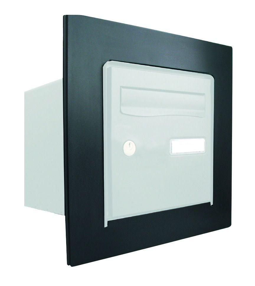 Extremement Boîte aux lettres : R-Box Lys avec cadre - non peinte XB-76