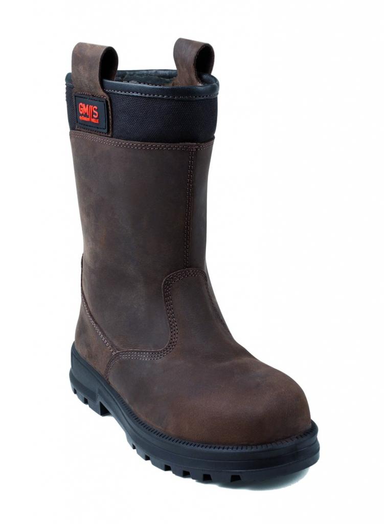 Bottes de sécurité cuir : Bottes non fourrées Sutra - S3/WRU A/CI